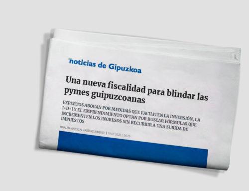 Una nueva fiscalidad para blindar las pymes guipuzcoanas