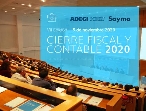 7ª Edición Cierre Fiscal y Contable 2020 ADEGI