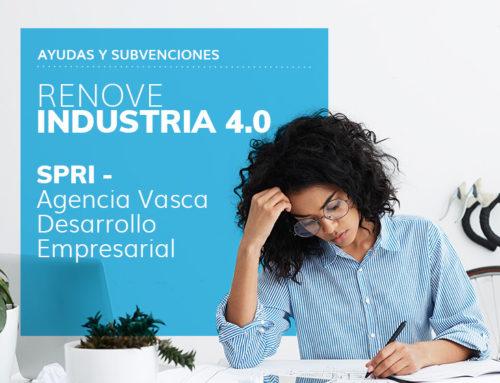 Programa de Ayudas «Renove Industria 4.0» 2020 – SPRI