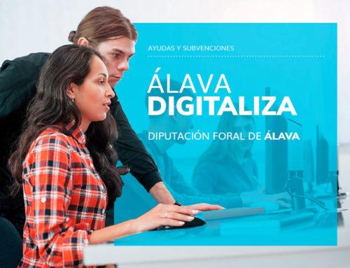 ÁLAVA DIGITALIZA – Ayudas para promover la digitalización