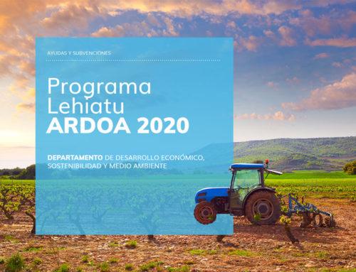 Programa Lehiatu Ardoa 2020