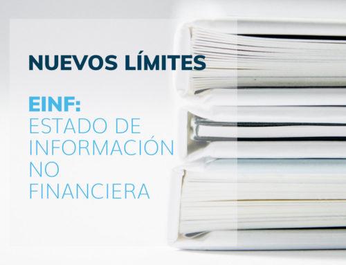 Estado de Información No Financiera: Nuevos Límites