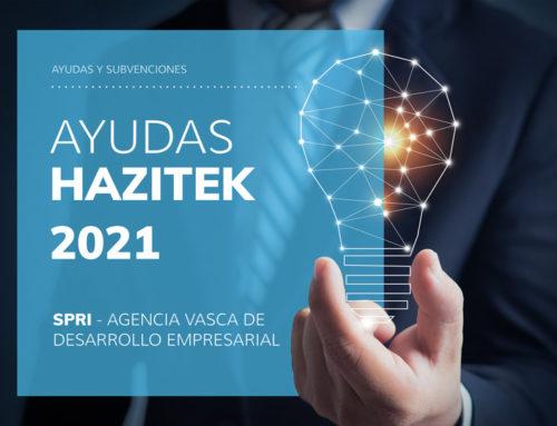Programa Ayudas HAZITEK 2021 – SPRI
