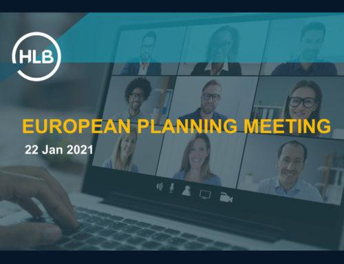 HLB European Planning Meeting 2021