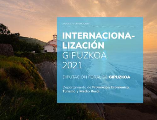 Programa INTERNACIONALIZACIÓN GIPUZKOA 2021