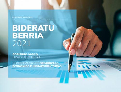 Programa financiero Bideratu Berria 2021