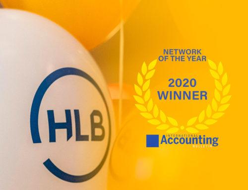 HLB ganadora 'Red del año 2020' award