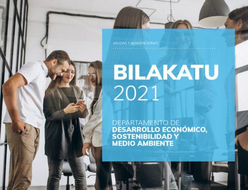 BILAKATU Y BATERATU 2021 GOBIERNO VASCO nuevos programas de inversiones