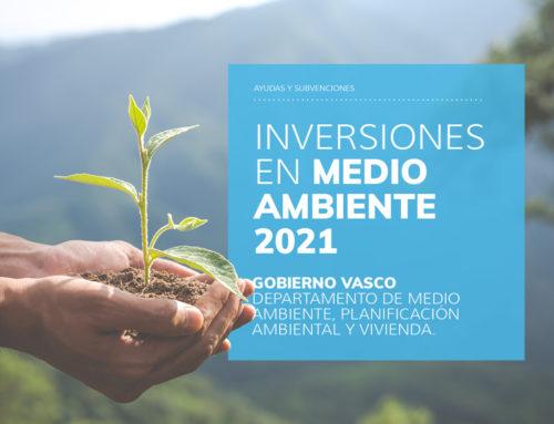 Programa Ayudas Inversiones En Medio Ambiente 2021