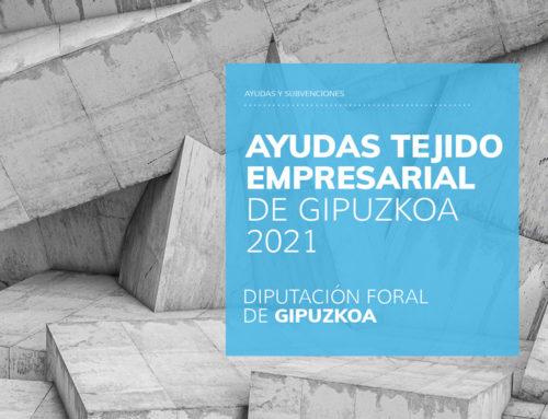 Ayudas para el tejido Empresarial de Gipuzkoa 2021