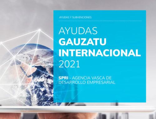 Programa de Ayudas GAUZATU INTERNACIONAL 2021